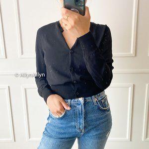 BNWT Zara Cardigan - Black - Small (XS)
